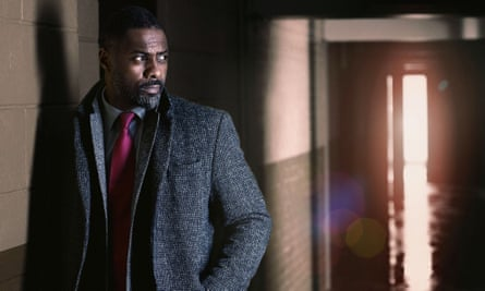 Idris Elba as DCI John Luther in the hit BBC series Luther.