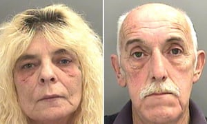 A judge at Cardiff crown court sentenced Peter Griffiths to 21 years in jail and his wife, Avril Griffiths, to 15 years.
