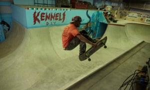 The Kenneli DIY skatepark in Tampere, Finland.