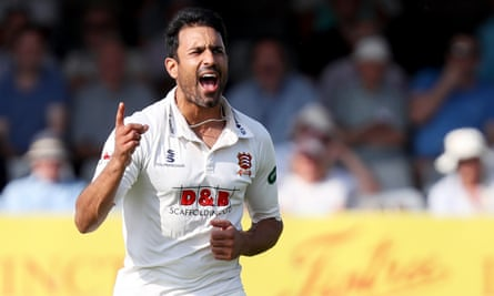 Ravi Bopara playing for Essex against Somerset in the County Championship in August.