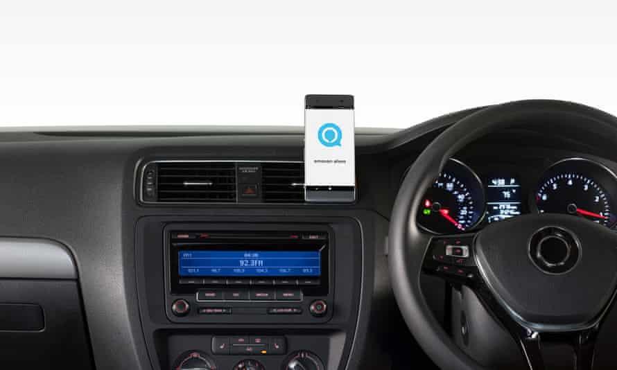 Logitech ZeroTouch puts Amazon's Alexa on your car dash.