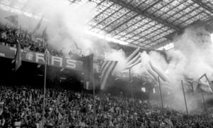 The Inter fans make some noize!