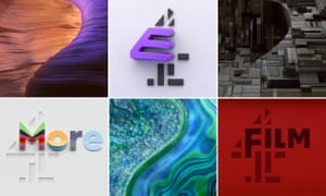 rebooted BBC Two and Channel 4 idents.