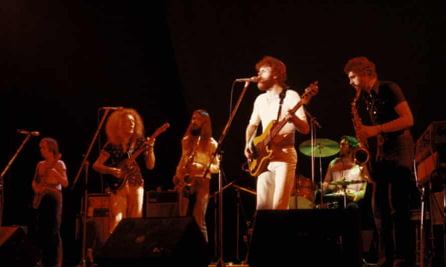 'And then suddenly chaos ensued' … Average White Band in the early 70s.