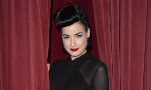 'They'd put on a horse and carriage for me to arrive in': Dita Von Teese.