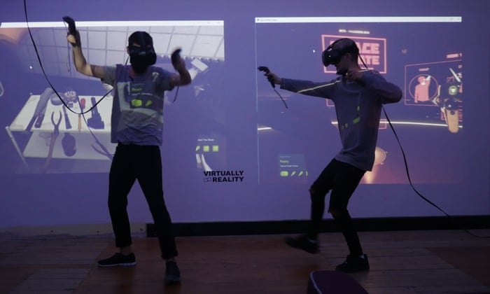 Virtual reality firms revive video arcades as they aim for the