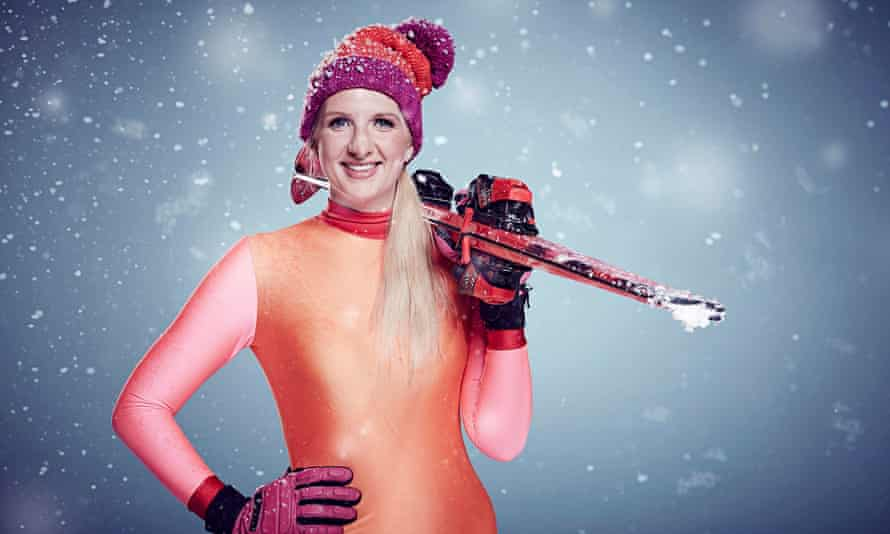 Former Olympic swimmer Rebecca Adlington in The Jump.