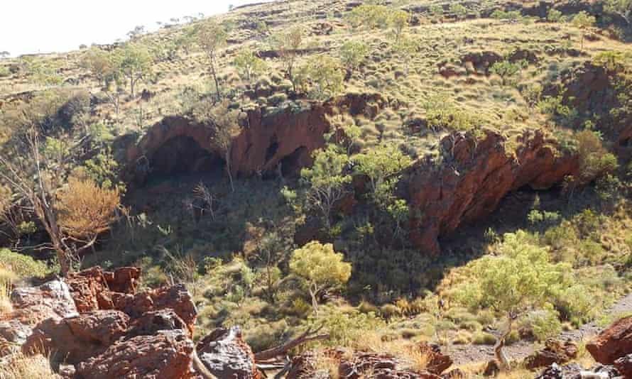 Ancient Aboriginal rock shelters