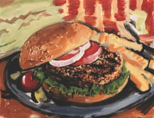 Amy's Veggie Burger, 2012.