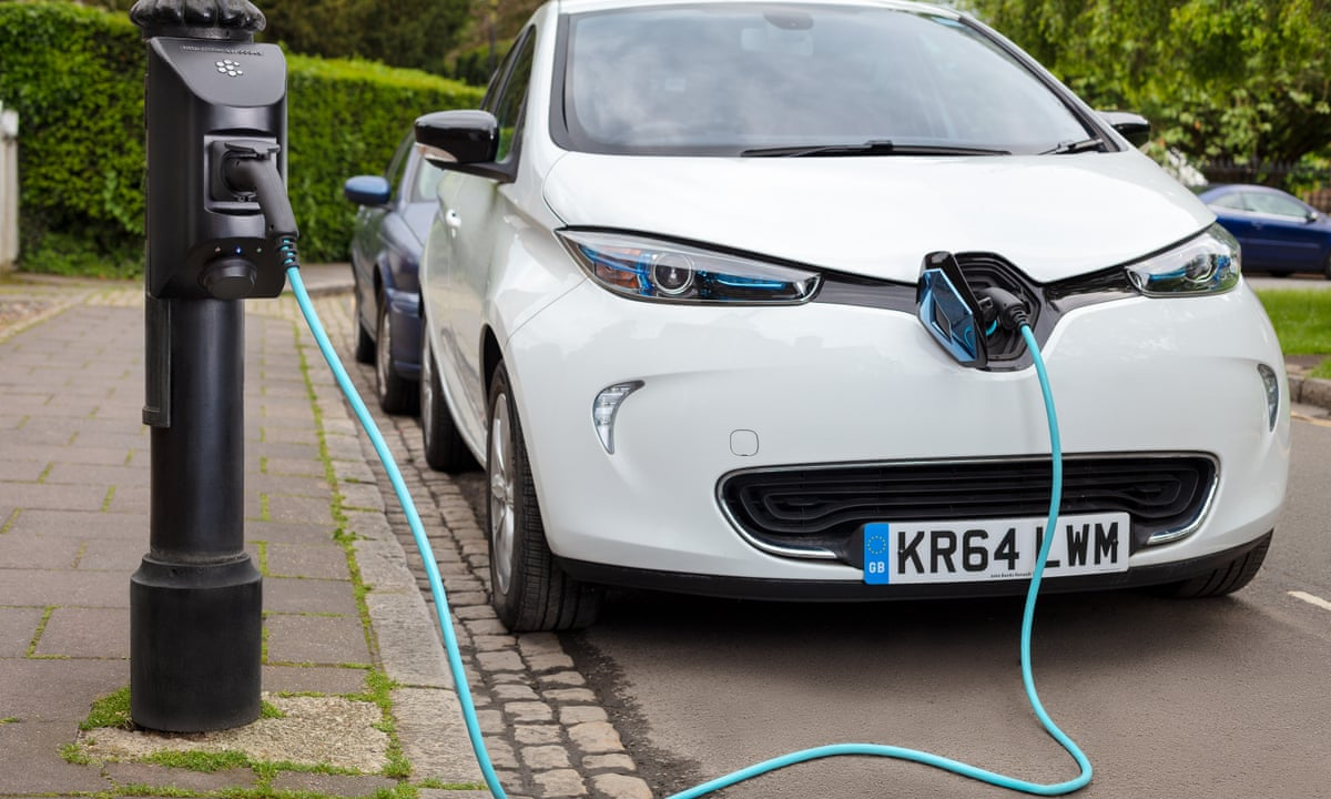 Powering ahead: six new ways to charge an electric car | Motoring | The  Guardian