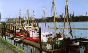 Fishing port Altenwerder