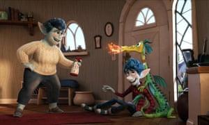Still from Pixar's new Onward film