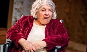 Rancorous … Miriam Margolyes in Sydney and the Old Girl by Eugene O'Hare.