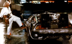 Back to the Future, 1985 Created the initial design (interior & exterior) of theDe Lorean time machine