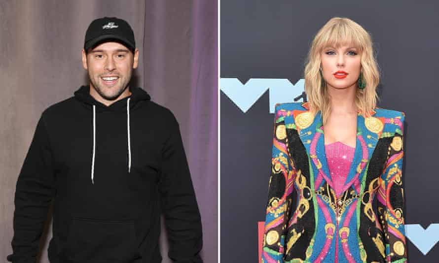Scooter Braun and Taylor Swift.