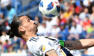 Los Angeles Galaxy forward Zlatan Ibrahimovic