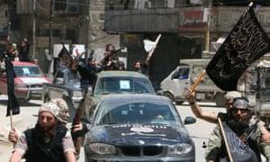 al-Nusra Front rebels