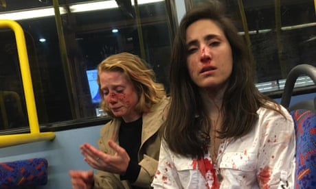 Two women left bloodied in homophobic attack on London bus