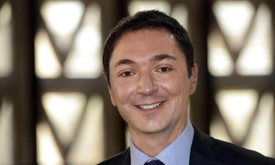 French weatherman Philippe Verdier