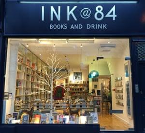 Ink@84 bookstore in Islington