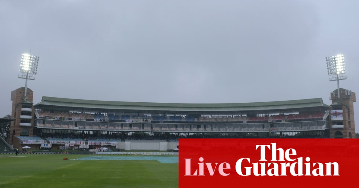 South Africa v England: third Test, day three, rain stops play – live!