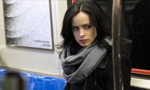 Netflix's series are all two-season wonders, such as Jessica Jones, above, and Unbreakable Kimmy Schmidt.