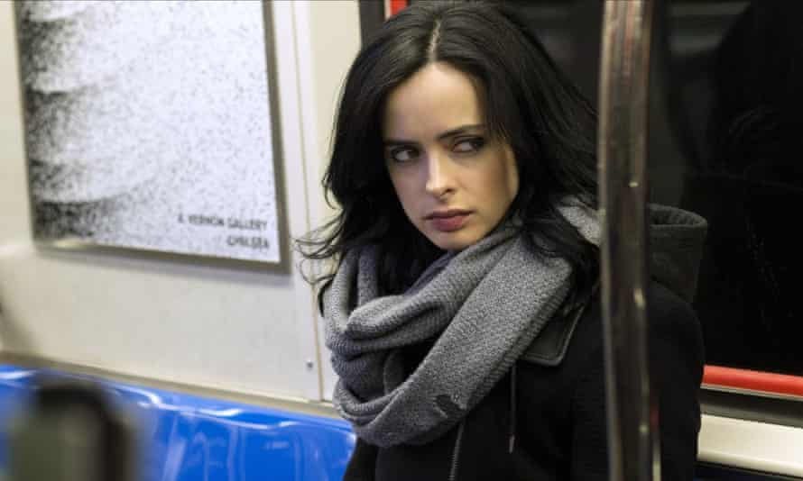 The popularity of services such as Netflix surged last year, with the help of series such as Jessica Jones, which stars Krysten Ritter as the superhero-turned-investigator.