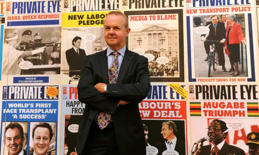Ian Hislop's Private Eye's circulation has continued to surge in recent years.