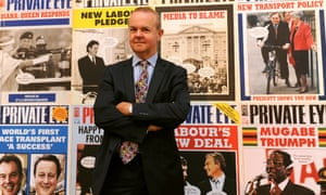 Ian Hislop, editor of Private Eye: 'pioneers in doing nothing' and all the better for it.