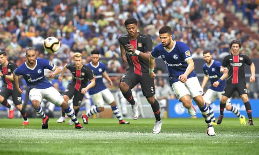 Schalke 04 v Bayer Leverkusen on PES 2019.