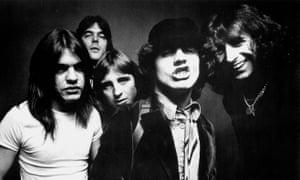 AC/DC, circa 1970.