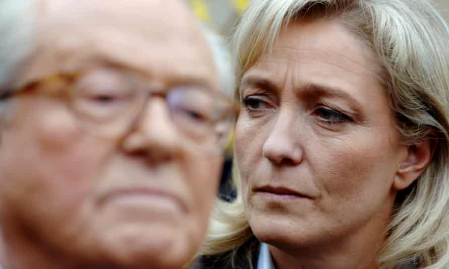 Marie and Marine Le Pen