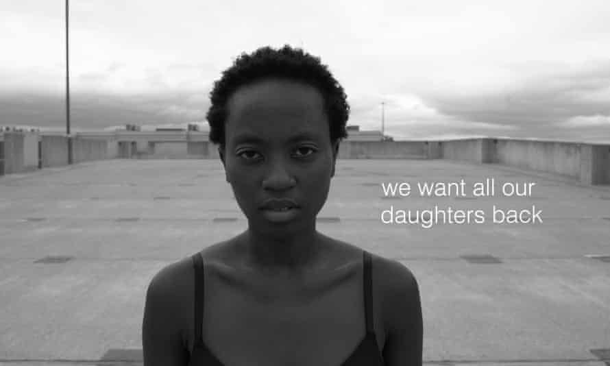 'We all want our daughters back' ... Axelle Munezero dances to the poetry of jessica Care moore in Our Bodies Back