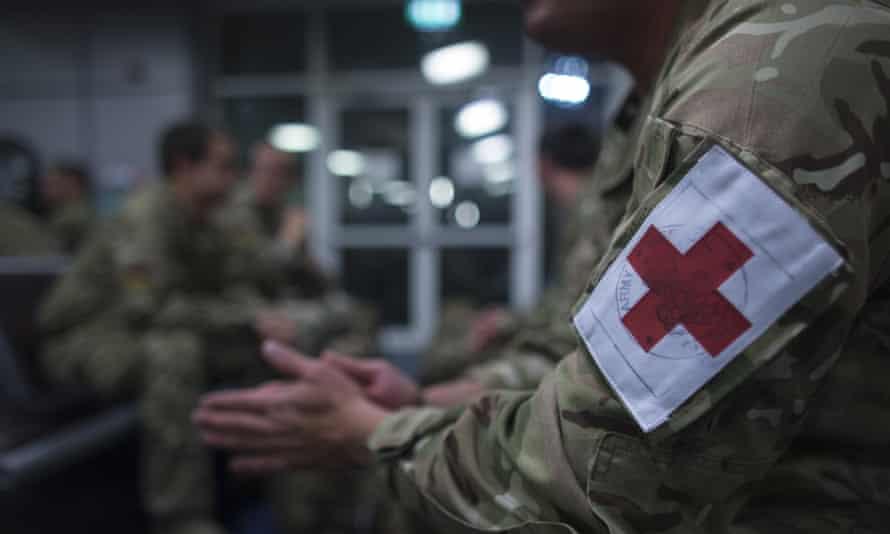 British army medics