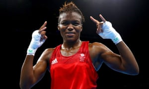 Nicola Adams celebrates becoming the first British boxer to retain an Olympic title in 92 years at Rio Centro on Saturday.