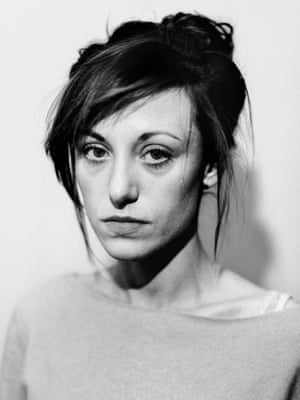 Portrait of Marta, 29 who travelled to Slovakia for an abortion from Poland, where abortion is illegal.