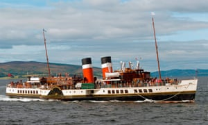 Popular excursions … the historic Waverley paddle steamer, temporarily out of service until urgent repairs are completed.