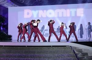 RM, Jimin, Jungkook, V, J-Hope, Suga and Jin of BTS