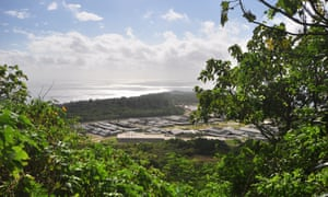 A glimpse of the main detention centre on Christmas Island