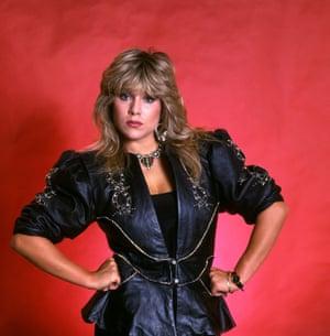 Samantha Fox in 1986
