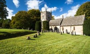 A Gloucestershire church
