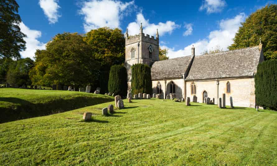 The church of St Peter, Upper Slaughter, Gloucestershire.