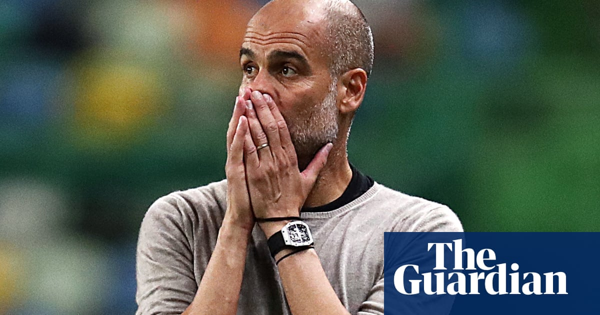 Pep Guardiola accepts blame for Manchester Citys European failures