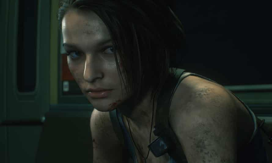 She can vomit maggots you know ... Jill Valentine in Resident Evil 3.