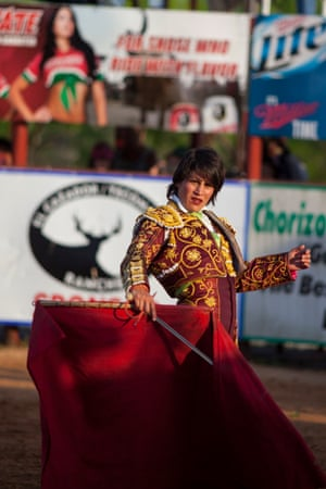 Karla Santoyo in action.
