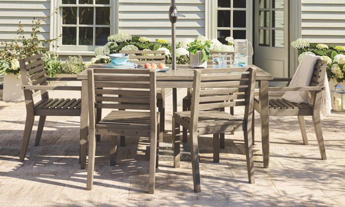 Ready to entertain in your garden? Go wild with new furniture, pops of colour and faux plants