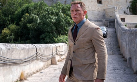 Daniel Craig in No Time to Die
