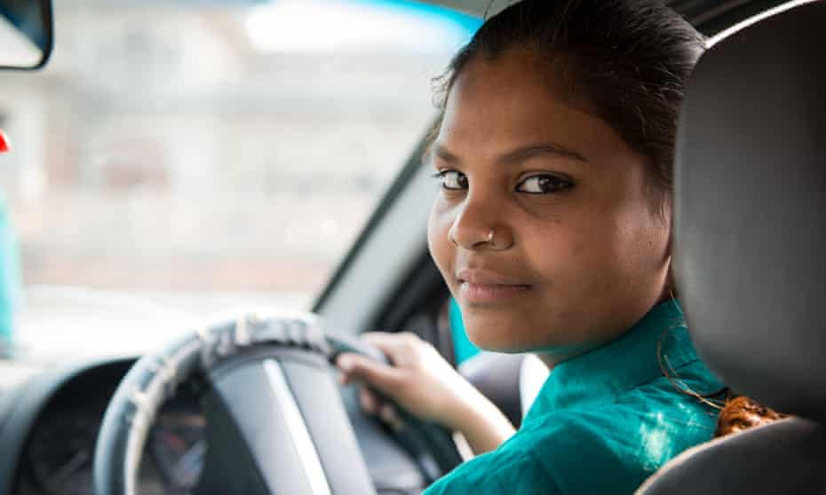 After working for a year as a private chauffeur, Meenu will be able to apply for a commercial licence.