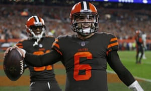 Baker Mayfield was impressive as he led the Browns to a comeback victory over the Jets