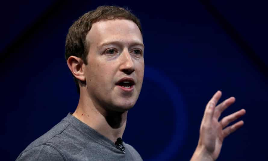 Mark Zuckerberg said: 'Research suggests that reading local news is directly correlated with civic engagement.'